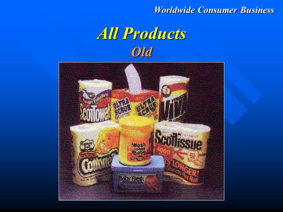Worldwide Consumer Business All Products New