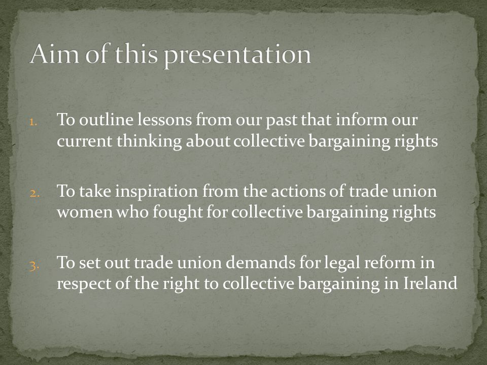 Beatrice Webb coined the term collective bargaining