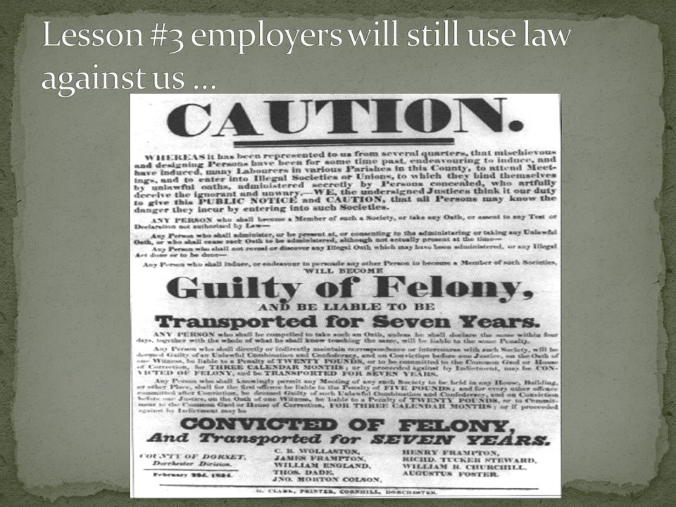 Taff Vale Railway Co v Amalgamated Society of Railway Servants [1901]commonly known as the Taff Vale case, held that unions could be liable for loss of profits to employers that were caused by taking strike action