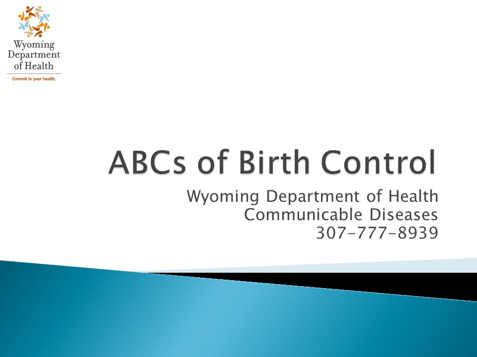 Birth Control When considering your sex life, there are many forms of birth control to choose from Some options may not be appropriate for your needs It is important to remember that contraceptives do not prevent against STD infection This presentation will address: Abstinence Barrier methods Contraceptives