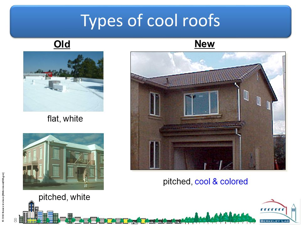 © 2010 Ronnen Levinson (RMLevinson@LBL.gov) 9 Cool colored roofing cool clay tile R ≥0.40 Courtesy MCA Clay Tile cool metal R ≥0.30 Courtesy BASF Industrial Coatings Courtesy American Rooftile Coatings +0.37+0.29+0.15+0.23+0.26+0.29 cool concrete tile R ≥0.40 standard concrete tile (same color) solar reflectance gain = cool fiberglass asphalt shingle R ≥0.25 Courtesy Elk Corporation