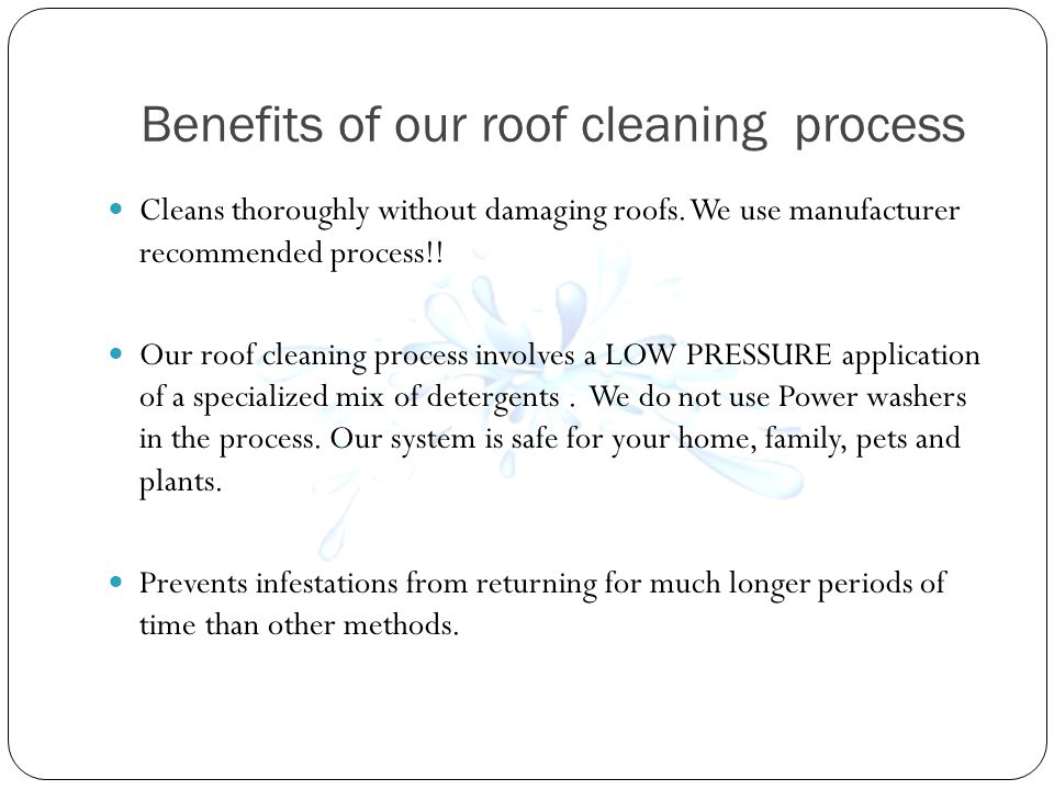 How long does a roof cleaning last.