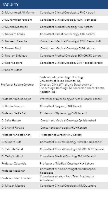 PSCO WOMEN CANCER MEETING FEBRUARY 14 - 15 2015 LAHORE TITLE: NAME: SPECIALITY: HOSPITAL: TELEPHONE: E-mail: PLEASE RETURN FORM TO: Pakistan Society of Clinical Oncology HR Department Shaukat Khanum Memorial Cancer Hospital & Research Centre 7 A Johar Town Lahore Pakistan E-mail : symposium@skm.org.pk or eregistration@ymail.comsymposium@skm.org.pkeregistration@ymail.com REGISTRATION IS FREE BUT MANDATORY REGISTRATION FORM