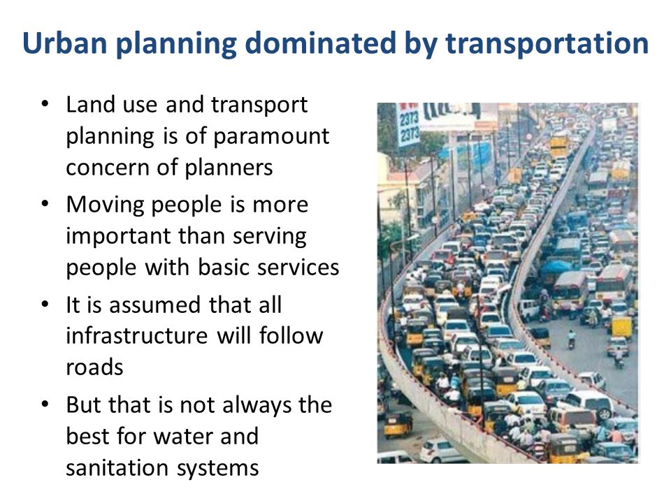 Land Infrastructure provision HousingPeople HousingLand Infrastructure provision Formal Process of Urban Development Informal Process of Urban Development