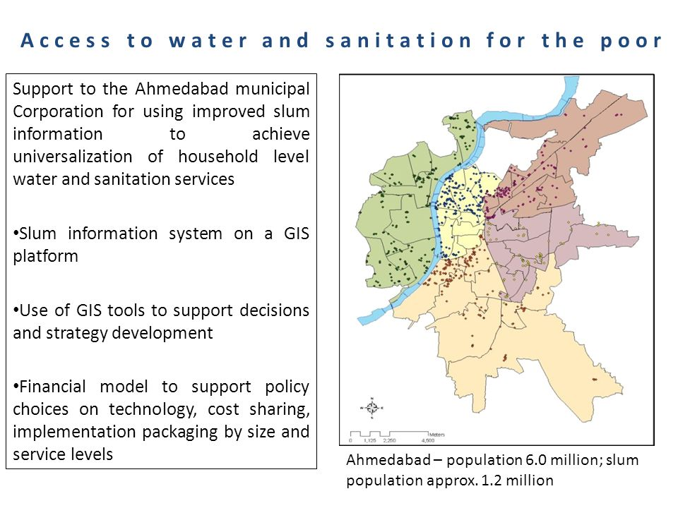 Total Station Survey of all Slums