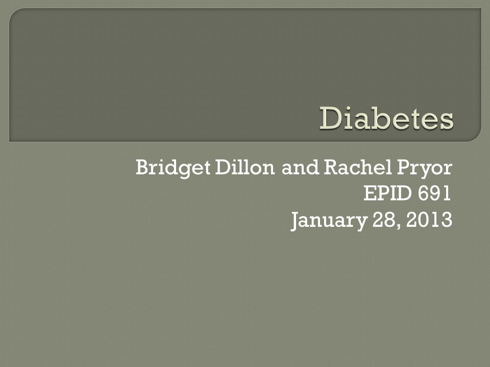  Incidence of Diabetes Type 2 remained relatively steady during the 1980's, but has steadily increased since 1990  Incidence in 2010 was 1,735,000 people in the United States  Incidence in 1980 was 493,000