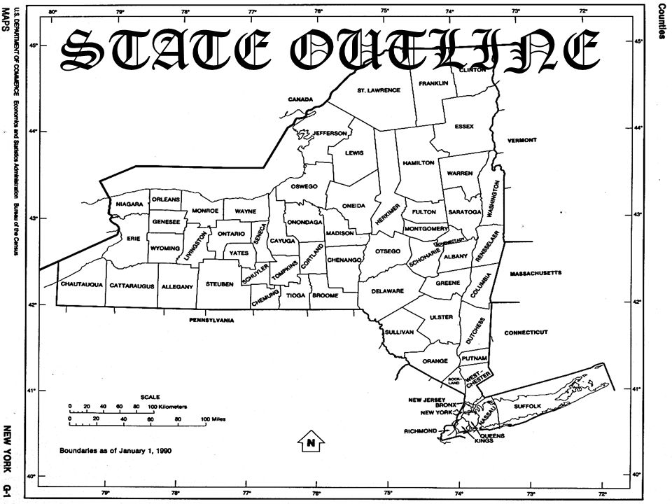 STATE OUTLINE