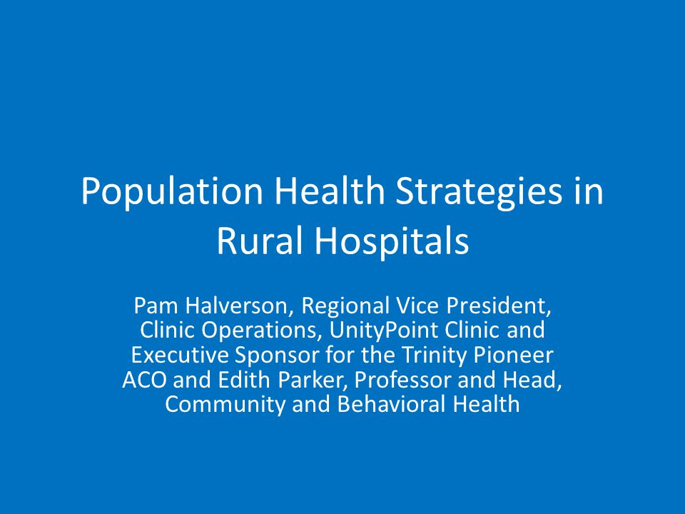 Definitions of Population Health the health outcomes of a group of individuals, including the distribution of such outcomes within the group, and we argue that the field of population health includes health outcomes, patterns of health determinants, and policies and interventions that link these two.