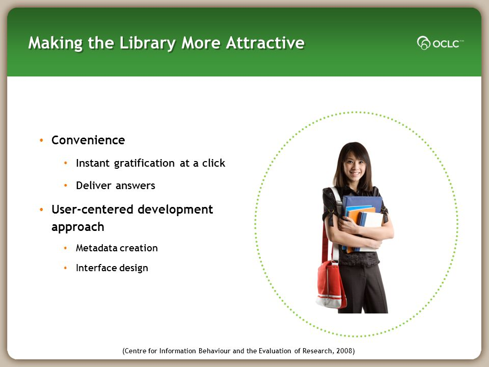 Making the Library More Attractive