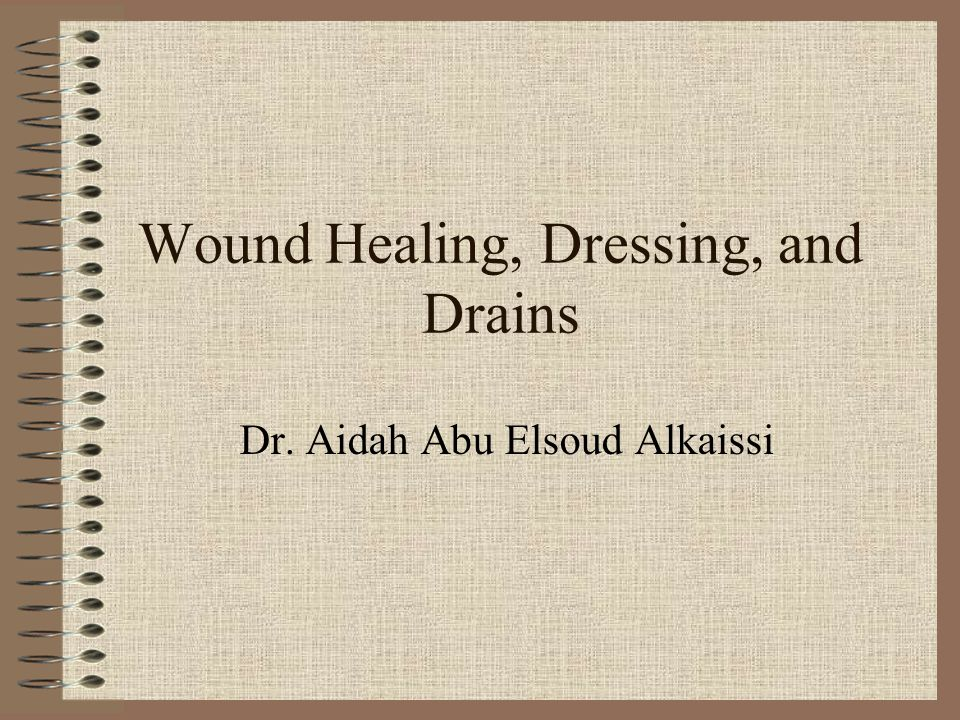 Wound healing Etiology of wounds: –Surgical: caused by an incision or excision –Traumatic: caused by an injury (mechanical, thermal, or chemical) –Chronic:caused by an underlying pathophysiology, such as pressure sores, or venous leg ulcers, over time