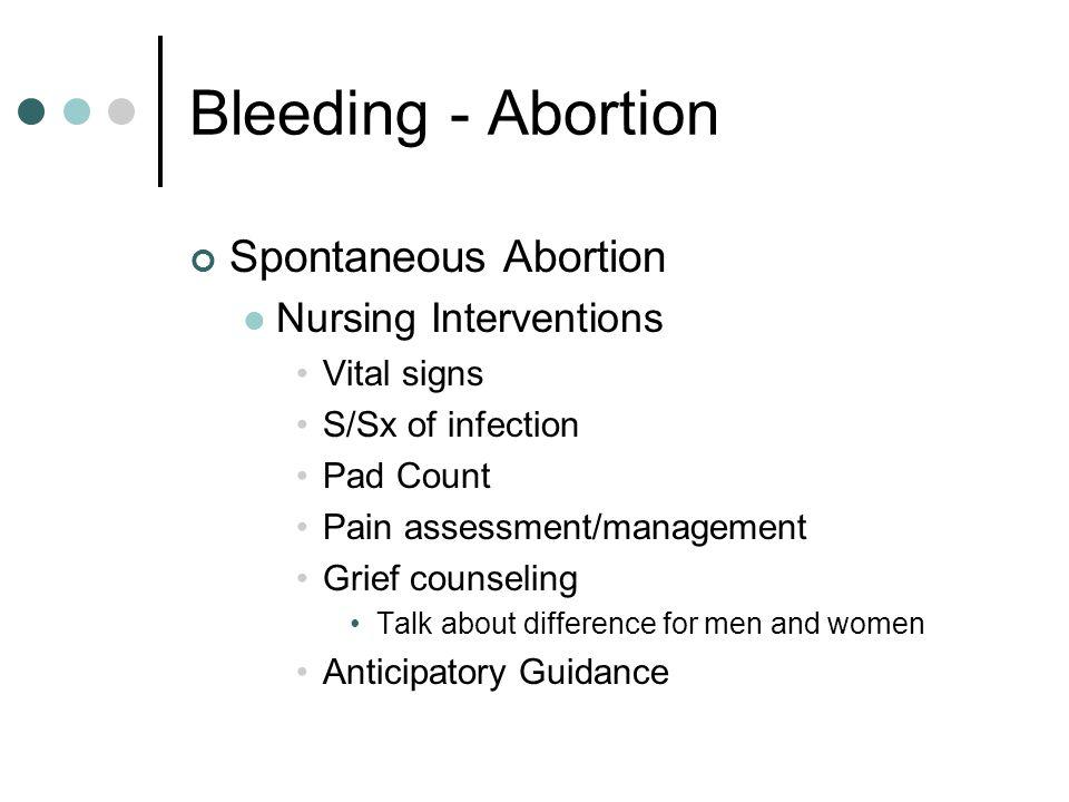 Bleeding - Placenta Previa