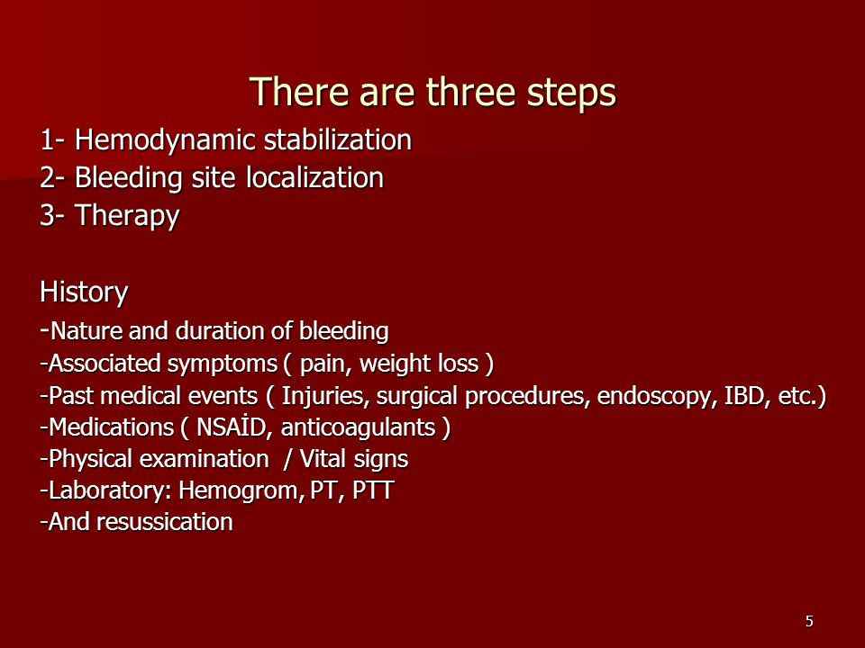 6 BLEEDING SITE LOCALIZATION Which modality will be used.