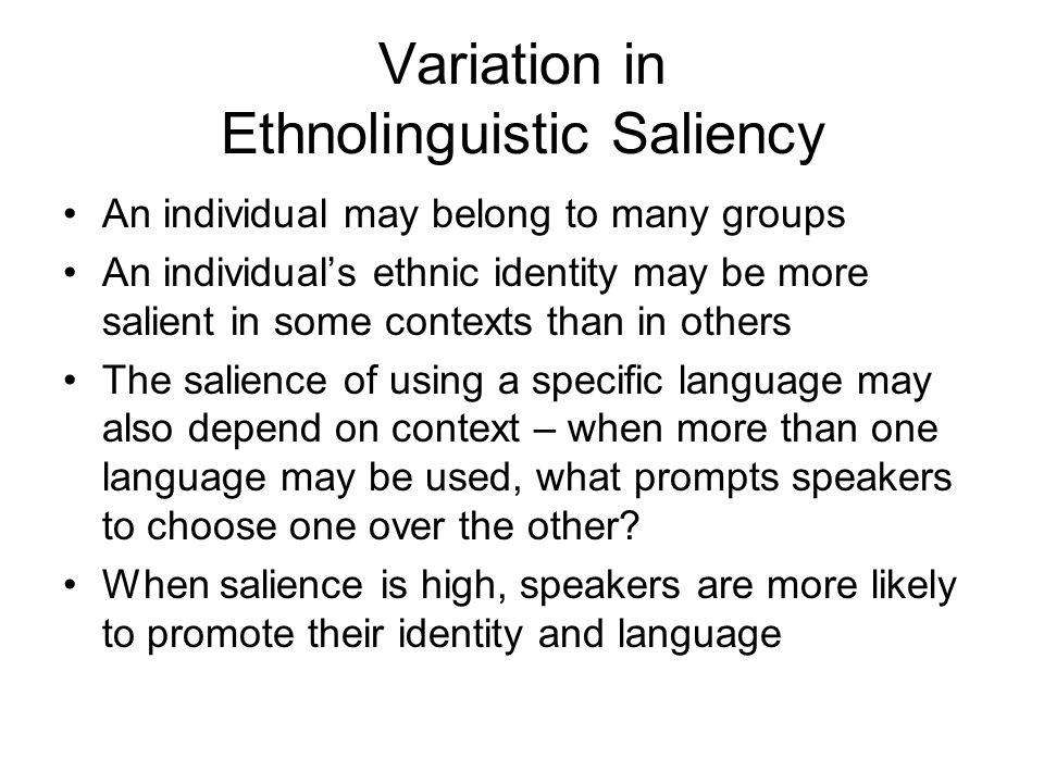 Variation in Language Attitudes and Language Functions Attitudes are not always logically linked to functionality – e.g.