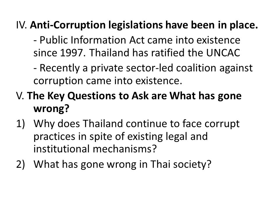 Initiatives of TI Thailand Awareness Raising and Educating the Public through Various Measures: – Advocacy and dissemination: Investigative Reports Art Competition Youth Debates Media Interventions- Short Subjects- – TV Spots – Newsletters