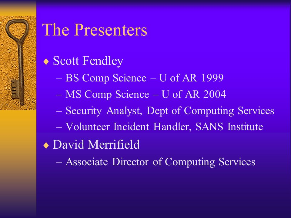 Session Description  Explores how to handle the attacks on your Internet infrastructure.