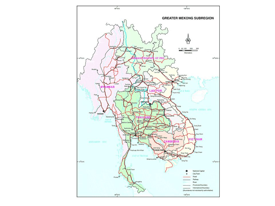 Mekong Watershed 36% of the River's Volume is from Laos