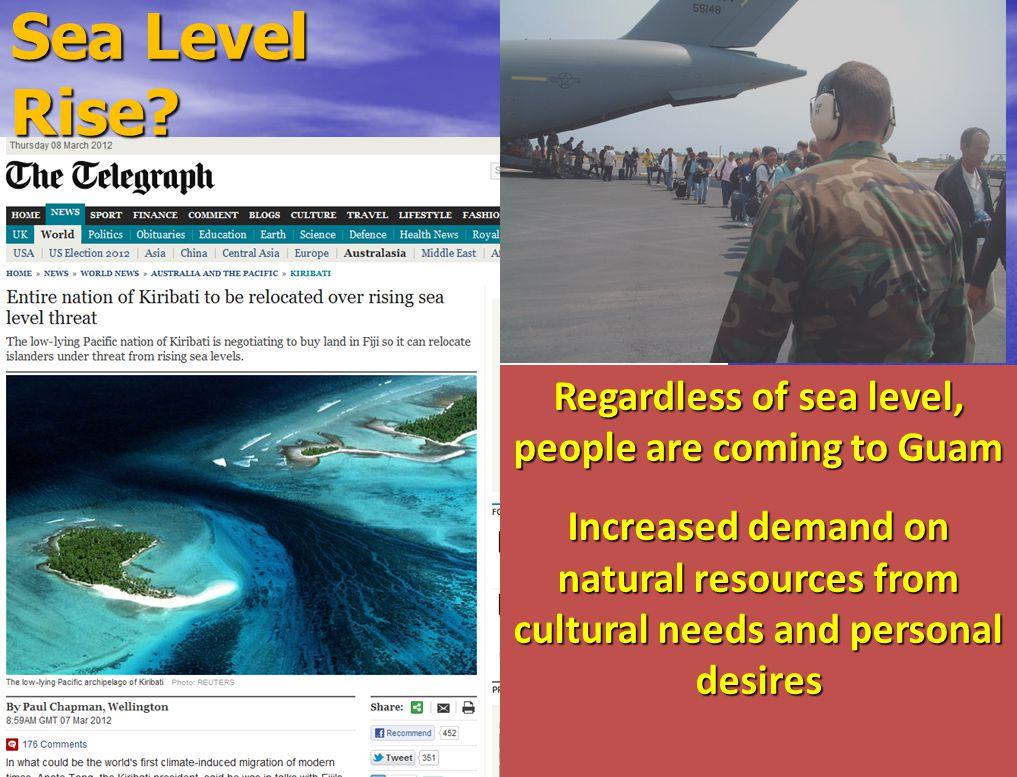 Decline and redistribution of pelagic fish stocks Increasing dependence on coastal resources