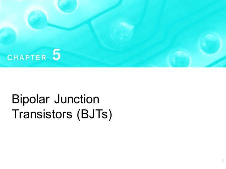 1 Bipolar Junction Transistors (BJTs). Copyright  2004 by Oxford University Press, Inc. Microelectronic Circuits - Fifth Edition Sedra/Smith2 Figure.