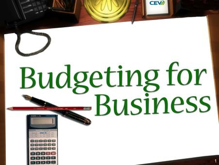 1. 2 Budgeting Is the allocation of monetary funds based on a determined structure What does this mean?