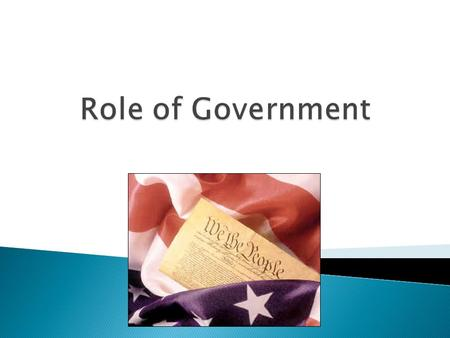  I can define the concepts of American Democracy  I can describe the differences between state and federal governments  I can chart and explain the.