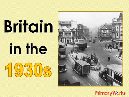 Britain in the. The 1930's was a decade when people experienced hardship after the more prosperous 1920's.