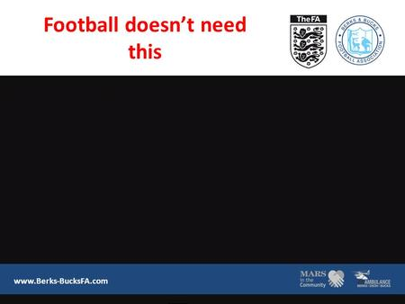 Football doesn't need this www.Berks-BucksFA.com.