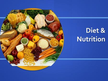 "Diet & Nutrition. Old Food Guide Pyramid ""New"" Food Guide Pyramid ""My Plate"""