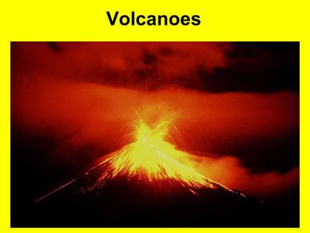 Volcanoes. FILL in the Volcano terms as you take notes. When finished, follow directions to create a pop-up volcano sheet you will put in your science.