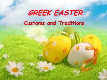  The Christian Easter, especially the Resurrection of Christ is the greatest festival of the Christian Church year, celebrated the first Sunday after.