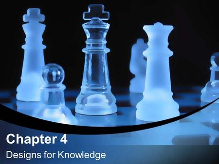 Chapter 4 Designs for Knowledge. Purpose – teaching discipline –Structures as frameworks for understanding multiple contents –Habits of mind or processes.