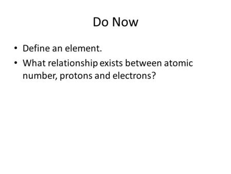 relationship between atomic number protons electrons