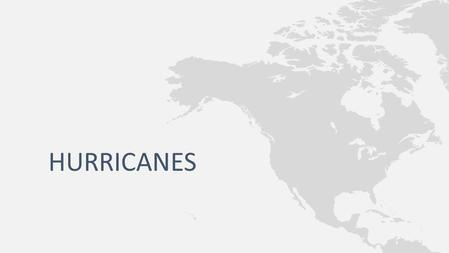 HURRICANES. Hurricane – a rotating tropical storm with winds of at least 74 mph that develops over the Atlantic or Eastern Pacific oceans Called cyclones.