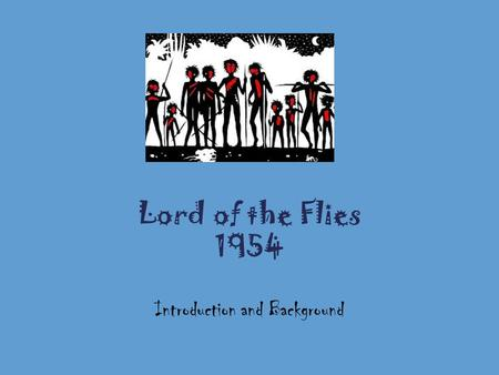 introduction to lord of the flies