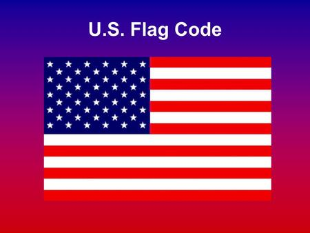U.S. Flag Code. Flag History Who Made the First Flag? Traditionally, Betsy Ross is given credit for sewing the first flag. Historians disagree on this.