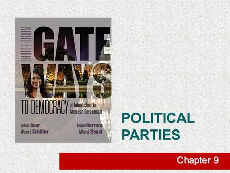 POLITICAL PARTIES Chapter 9. The Role of Political Parties in American Democracy  What Are Political Parties?  Abide by party platform  Includes party.