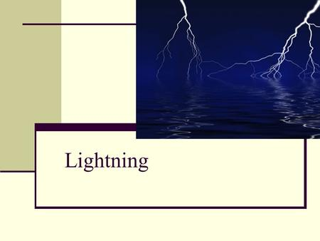 Lightning. When warm humid air rises in an unstable atmospheric environment, THUNDERSTORMS are produced.