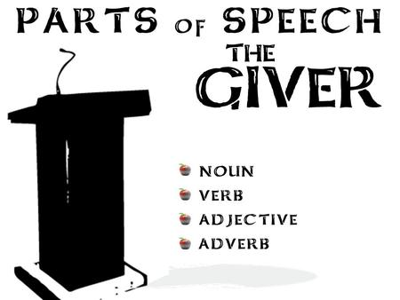 speech on the giver