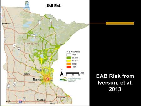 Minnesota First Detectors EAB Risk from Iverson, et al. 2013.