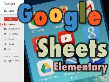 Google Sheets Google Sheets is a spreadsheet program You can create charts of your information so that it can be quickly and easily understood It is Free.