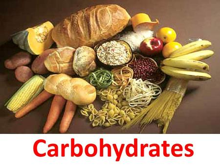 CARBOHYDRATES Carbohydrates. Definition Carbohydrates are essentially hydrates of carbon (i.e. they are composed of carbon and water and have a composition.