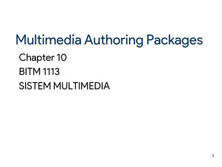 an overview of macromedia director an authoring software Using swf files in macromedia director- free online tutorials for using with the director authoring environment that comes with the director software.