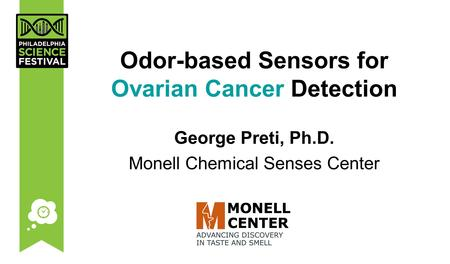 Odor-based Sensors for Ovarian Cancer Detection