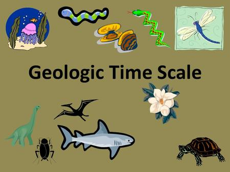 Geologic Time Scale. Imagine putting everything that has happened on Earth into a one hour time frame!