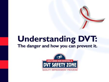 What Is Deep Vein Thrombosis (DVT)? DVT is a blood clot that forms in a vein deep in the body Most often occurs in the deep veins of the legs, either.