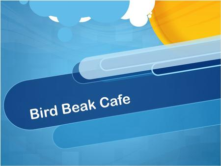 Bird Beak Cafe. A bird's beak is basically a lightweight, bony elongation of its skull. The beak is covered with skin that produces keratin, the same.