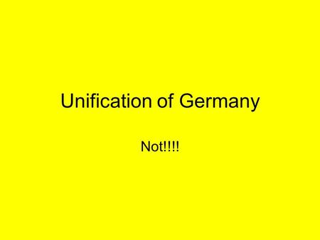 Unification of Germany Not!!!!. Before 1500 The region of central Europe was initially unified under Charlemagne back in 800. –His kingdom was called.