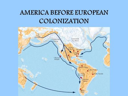 AMERICA BEFORE EUROPEAN COLONIZATION. The Divide & Conquer Principle Why did the Indians lose to the European settlers? The importance of **coordinated.