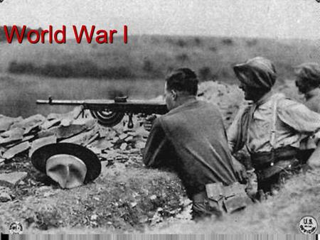 World War I I. The Early War Years The underlying causes that created a powder keg in Europe that was ready to explode.  Militarism: The large European.
