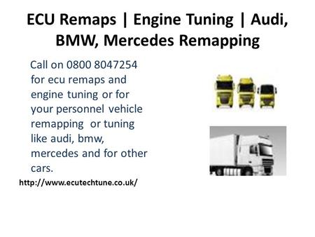 ECU Remaps | Engine Tuning | Audi, BMW, Mercedes Remapping Call on 0800 8047254 for ecu remaps and engine tuning or for your personnel vehicle remapping.