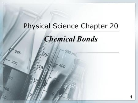 Physical Science Chapter 20